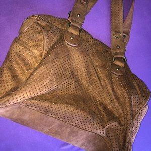 Express Soft Suede Hand Bag